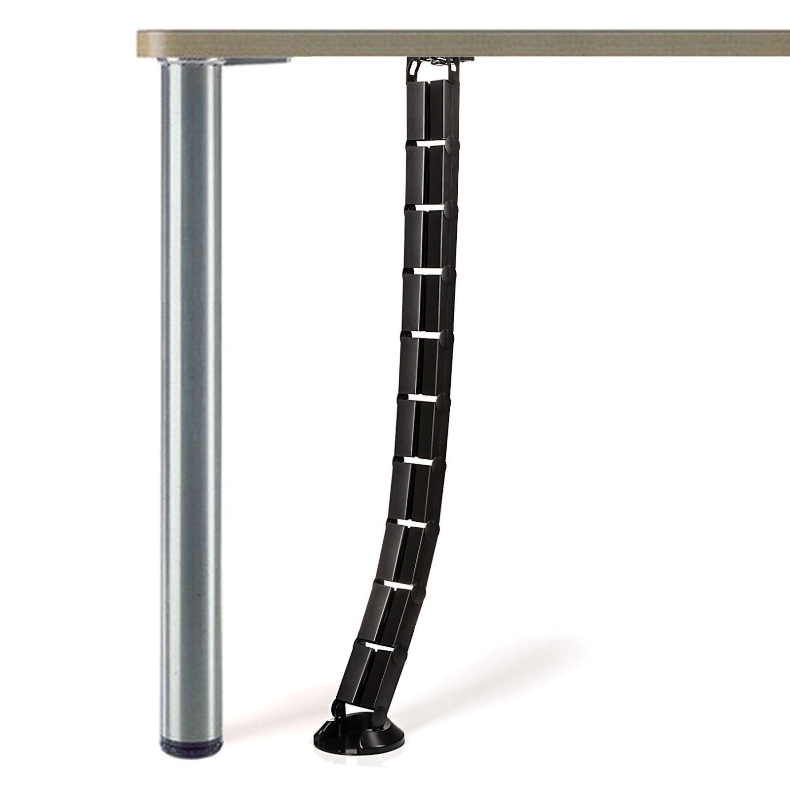 so tech schreibtisch kabelbaum kabelkanal kabelf hrung. Black Bedroom Furniture Sets. Home Design Ideas