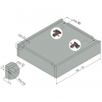 Hollywoodschaukel Belastbarkeit 400 Kg : fullslide 3d vollauszug 300 550 mm mit soft close ~ Watch28wear.com Haus und Dekorationen