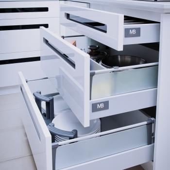 1 Paar Modern Box Bohrlehren für Relingmontage