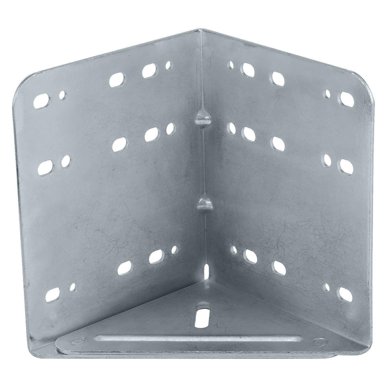 SOTECH 8er Set M/öbelbeine MOTEL 35 mm 65 x 65 mm Silber eloxiert Schrankbeine aus Aluminium