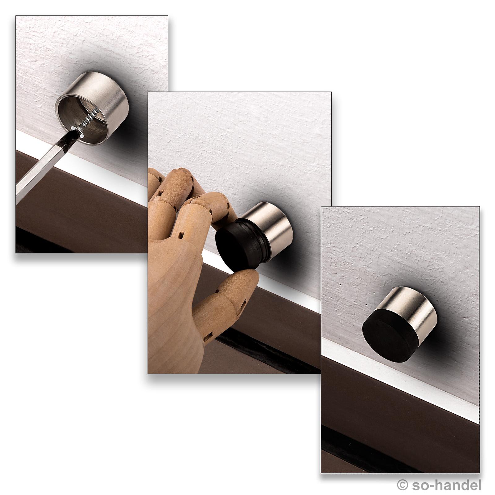 t rstopper wandt rstopper anschlagpuffer t ranschlagpuffer. Black Bedroom Furniture Sets. Home Design Ideas