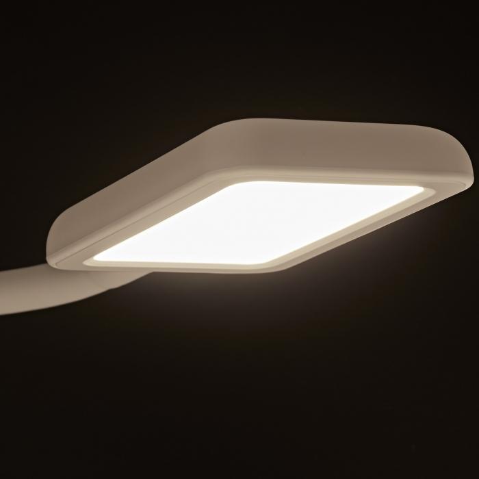 JUNKER LED Caravanleuchte flexiblem Leuchtenarm Touch Bettleuchte mit 2x USB u
