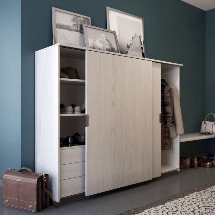 so tech hawa eku clipo 36 h ms mixslide schiebet rbeschlag f r 2 t ren so. Black Bedroom Furniture Sets. Home Design Ideas