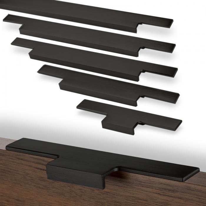 Griff f/ür Espressomaschine /ø 31mm L/änge 135mm schwarz 10x10mm Lochgr/ö/ße 10x10mm