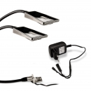 2er Set Flexible LED Leseleuchte Bettleuchte Luminoso 12V / 2W